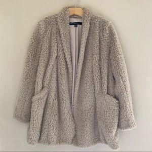 Kenneth Cole // Faux Fur Coat